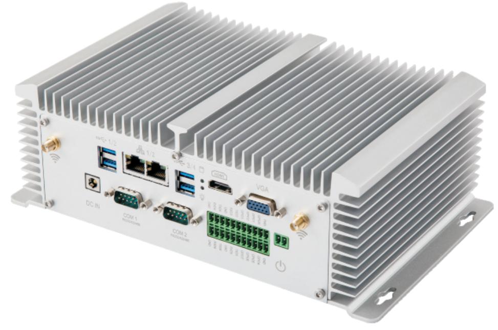 嵌入式无风扇双网口工控机 EPC-310