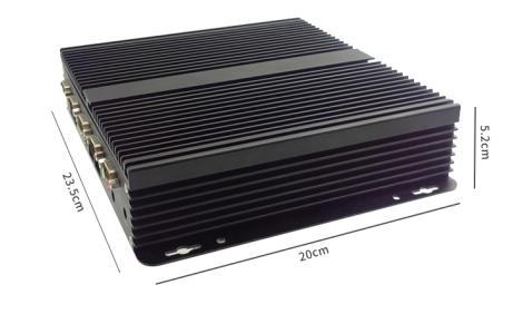 嵌入式无风扇工控机 EPC-300