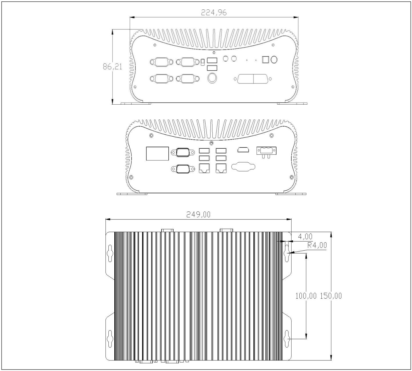 嵌入式工控机 EPC-312-G4