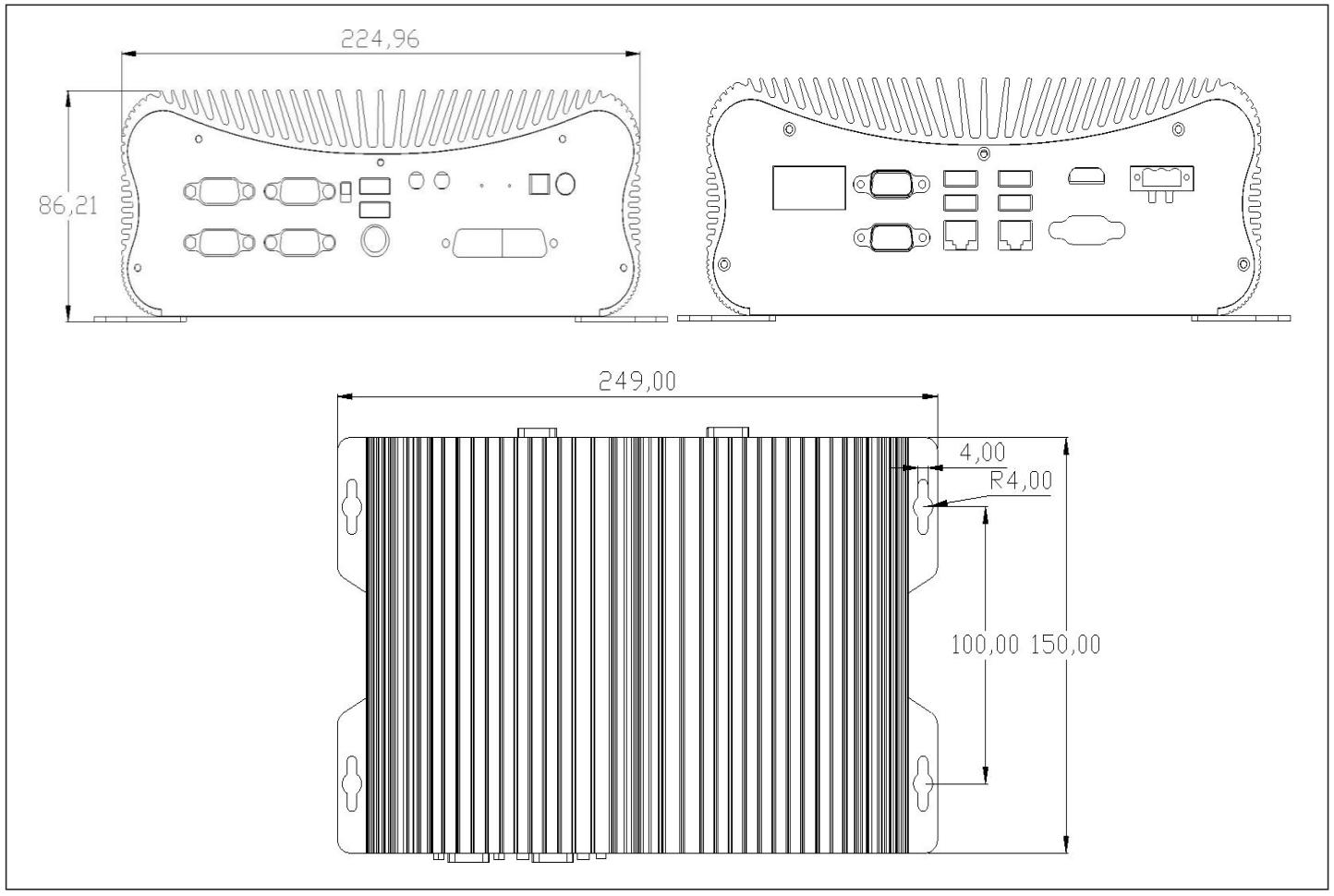 嵌入式工控机 EPC-312-G678