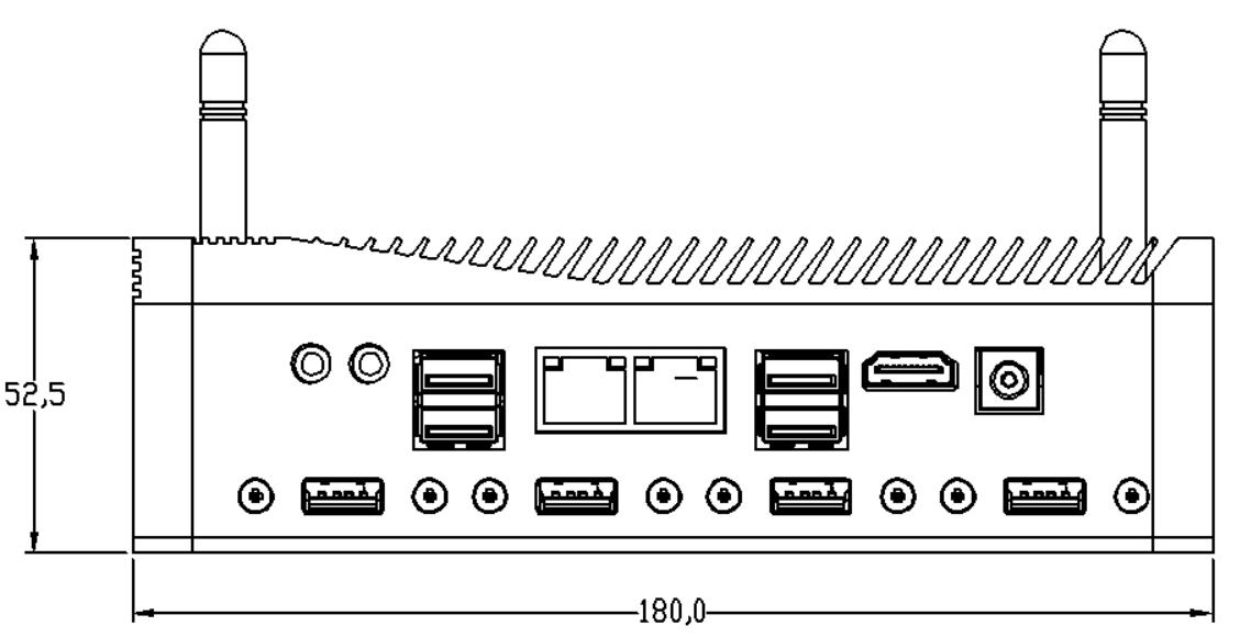 嵌入式无风扇工控机EPC-309